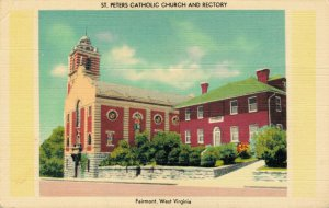 USA St. Peter's Catholic Church And Rectory Fairmont West Virginia 04.32