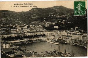 CPA Collection Artistique - NICE - Intérieur du Port (203248)