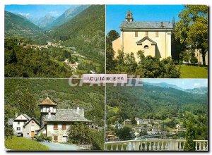 Postcard Modern Acquarossa TI Valle di Blenio