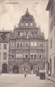Hotel Zum Ritter, Heidelberg, Germany, 1900-10s