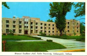 Indiana Indianapolis Women's Residence Hall Butler University