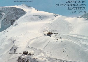 RP; HINTERTUX , Austria , 1950-70s ; Snow skiing course