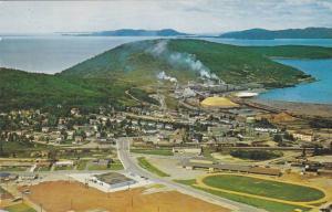 Aerial View, Marathon Corporation of Canada LTD, Paper Mill, Marathon, Ontari...