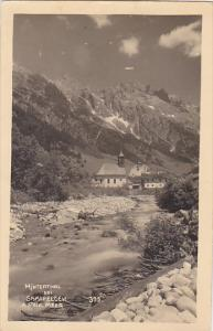 Austria Hinterthal bei Saalfelden 1944 Real Photo