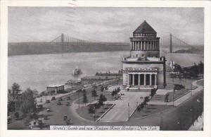 New York City Grant's Tomb and New Hudson River Bridge 1936