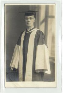 Unknown University Teacher from Lancashire (?) 20s RPPC