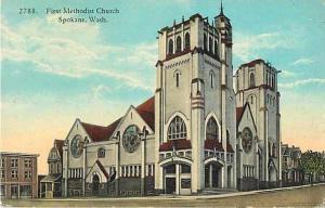 D/B First Methodist Church Spokane Washington WA
