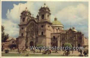 Cuzco, Peru Iglesia de la Compania, Church  Iglesia de la Compania, Church