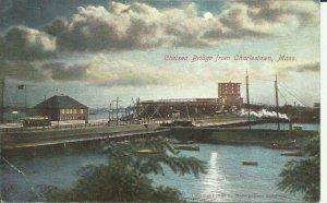 Charlestown, Mass.,  View of Chelsea Bridge