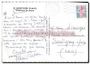 Modern Postcard Mont Dore Puy de Dome Teleferique Sancy