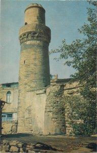 Postcard Azerbaijan BAKU Muhammed mosque minaret Synk-qala by Muhammad Abu Bakr