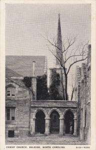 RALEIGH, North Carolina, 1900-1910's; Christ Church