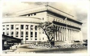 Philippines, Pilipinas Bureau of Posts Manila Bureau of Posts Real Photo