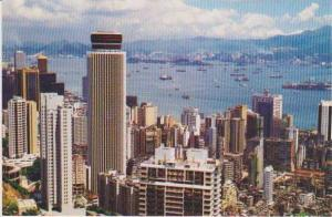 #70: Aerial View of New Skyscrapers of Central & Wan Chai, Hong Kong, China