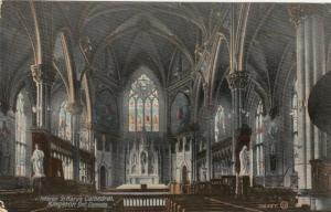 KINGSTON , Ontario , 1913 ; Interior St Mary's Cathedral