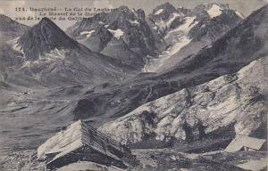 Le Col Du Lautaret, Le Massif De La Meije Vus De La Route Du Galibier, Dauphi...
