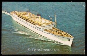 SS Lurline - Matson Lines Luxury Liner