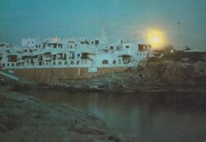 Menorca Fishermen Village Bibibeca Vell Postcard