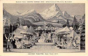 New York City~Center Theatre~White Horse Inn Musical~Carousel~Stage~1936 B&W PC
