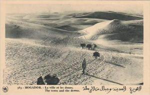 Morocco Mogador The town and the downs 1920-30s