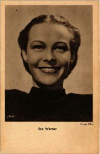 CPA Ilse Werner, Ross Verlag photo FILM STARS (818522)