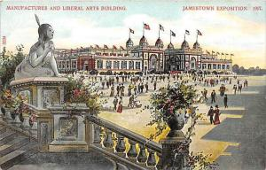 Jamestown Exposition   Manufactures and Liberal Arts Building,