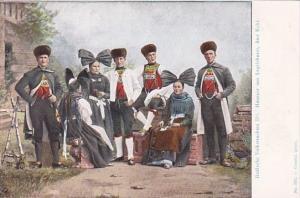 Austria Baden Badische Volkstrachten
