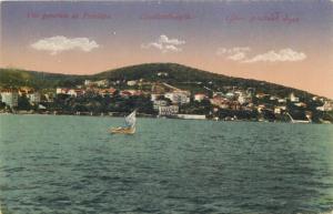 Turkey Constantinople general view of Prinkipo vintage postcard