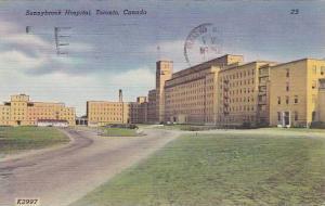 Exterior, Sunnybrook Hospital, Toronto, Canada,  PU_1953