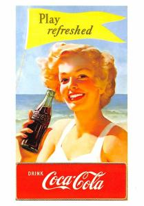 Advertising Post Card Coca Cola Modern Card Unused
