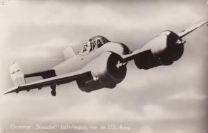 RP: Grummon Skyrocket Jachtvliegtuig van de U.S. Army airplane , 40-50s