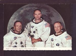 Apollo 11 Astronauts Post Card 2813