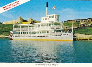 Canada Alberta Calgary 180 Passenger S S Moyie Heritage Park