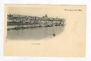 Panoramic View of City & Harbor / Vue Generale,Boulogne sur Mer,France Pre 1908