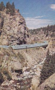 COLORADO, 1950-1960's; The Vista-Dome California Zephyr, South Boulder Canyon...