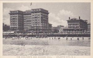 New Jersey Atlantic City The Chalfonte and Haddon Hall Albertype