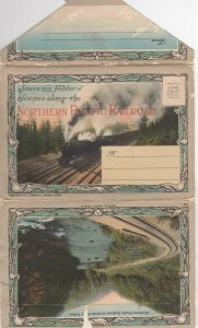 Souvenir Folder of Scenes along the NORTHERN PACIFIC RAILROAD