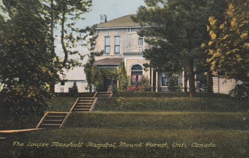 MOUNT FOREST, Ontario, Canada, 1900-10s; Louise Marshall Hospital