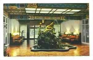 Golden Dragon Lobby,Grand Hotel,Taipei,Taiwan,50s