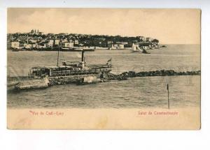 233057 TURKEY CONSTANTINOPLE Cadi-Keuy ship Vintage postcard
