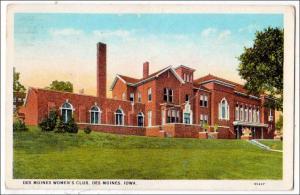 Des Moines Women's Club, Dea Moines Iowa