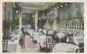 CHICAGO, Illinois, 1916; Italian Garden, Kaiserhof Hotel