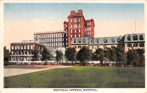 Montreal General Hospital Writing on Back