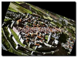 Postcard Modern Carcassonne Vue Generale Aerienne On Cite