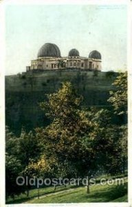 Phipps Observatory, Riverview Park, Pittsburg, PA, USA Space 1909