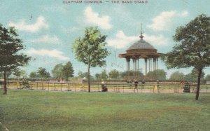 Band Stand , Clapham Common, London, England, UK, 1907