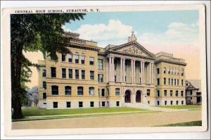 Central High School, Syracuse NY