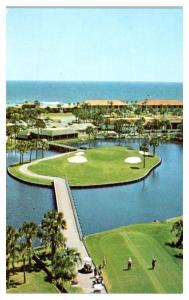1960s Ponte Vedra Golf Club Island Ninth Hole, Ponte Vedra Beach, FL Postcard