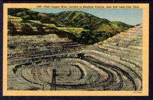 Utah Copper Mine in Bingham Canyon,Near Salt Lake City,UT