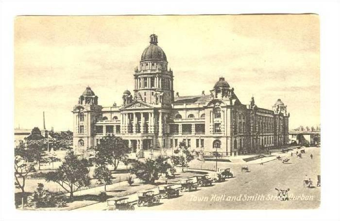 DURBAN , South Africa, 00-10s ; Town Hall